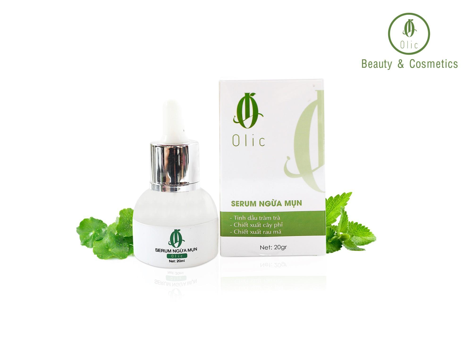 Tinh chất ngừa mụn hiệu quả Olic -Không gây kích ứng da -100% từ tự nhiên tốt nhất