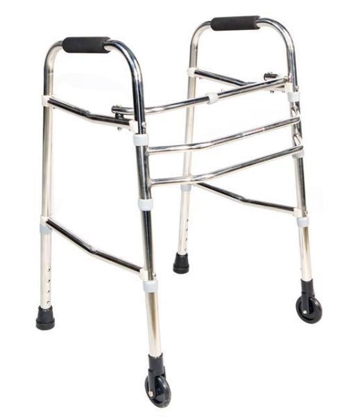 Khung tập đi có bánh xe hỗ trợ người già Việt Nam