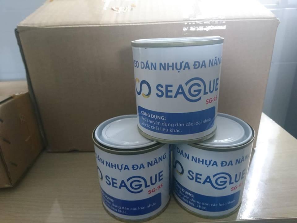 Keo Dán Nhựa Đa Năng SeaGlue Bám Dính,Chịu Nước Tốt