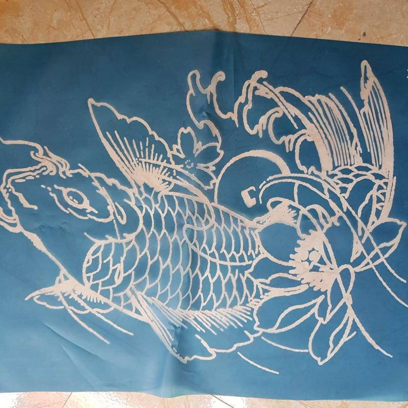 Khung vẽ henna size lớn nhất (40×60cm)