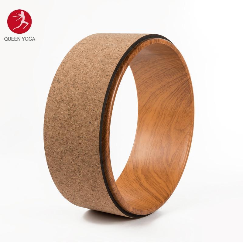 Vòng tập Yoga gỗ bần tự nhiên cao cấp