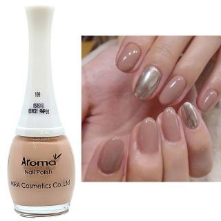 Sơn móng tay siêu sang chảnh Aroma Nails Lacquer Cao cấp Hàn Quốc No.100 (Nâu sữa) 12ml thumbnail