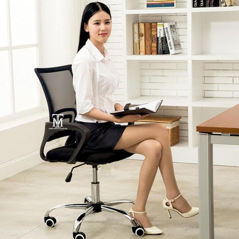 Ghế Văn Phòng - Tiêu Chuẩn ISO 9001-2000 SGS-RoHS - E0 Normaline - Thiên Minh Furniture giá rẻ
