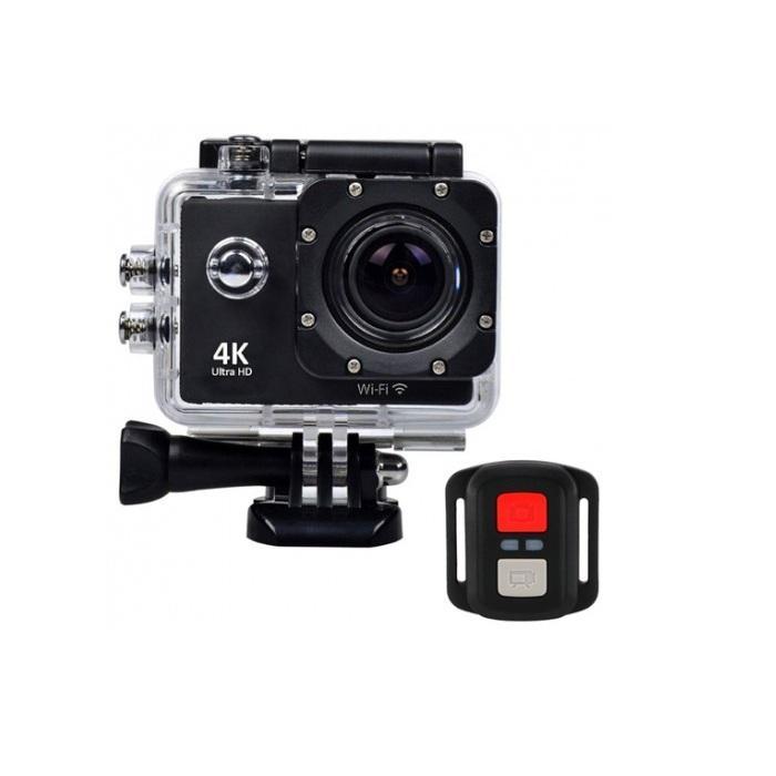 Camera hành trình, hành động sport cam Wifi 4K ULTRA HD chống rung PF16 Nhật Bản
