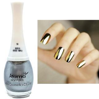 Sơn móng tay siêu sang chảnh Aroma Nails Lacquer Cao cấp Hàn Quốc No.90 (kim loại) 12ml thumbnail