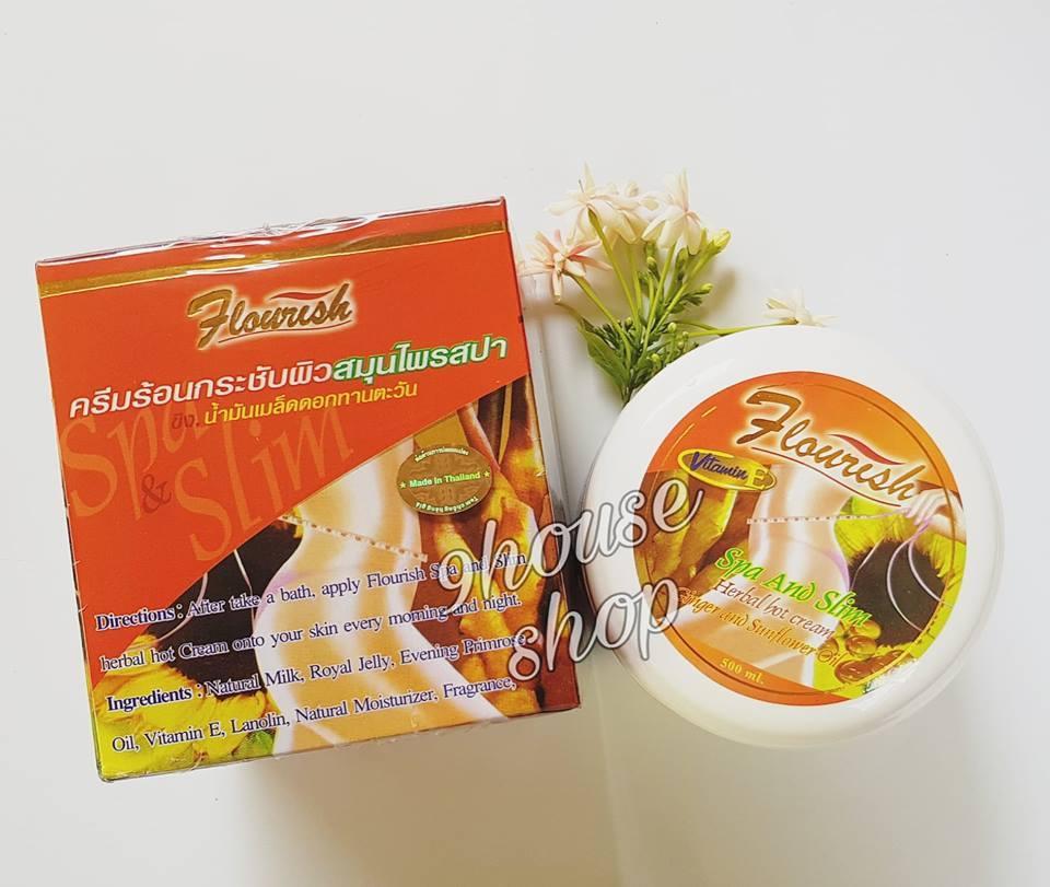 Kem Massage Tan Mỡ Flourish Thái Lan 500ml