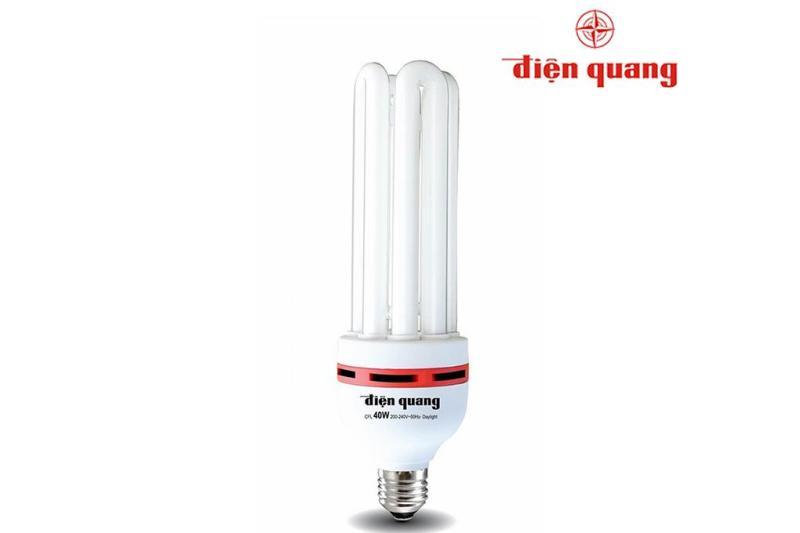 Bóng Compact, bóng huỳnh quang, bóng U 40W Điện Quang ( Ánh sáng trắng ) - Điện Việt