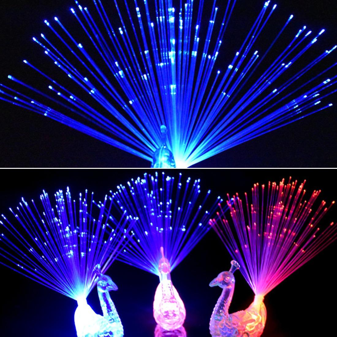 Hình ảnh Combo 5 chim công đèn led