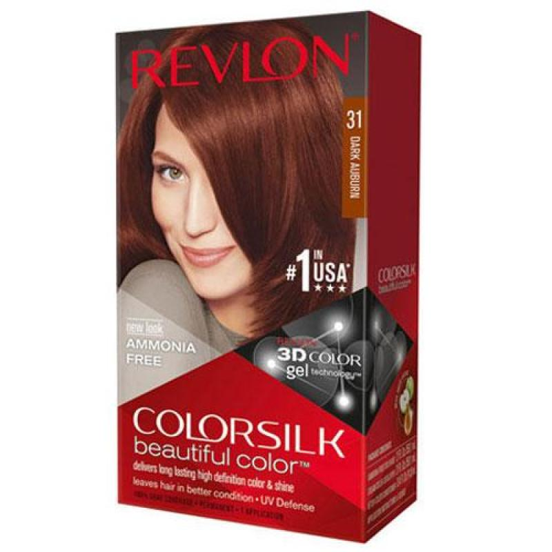 Nhuộm revlon colorsilk 3D #31 dark aubura cao cấp