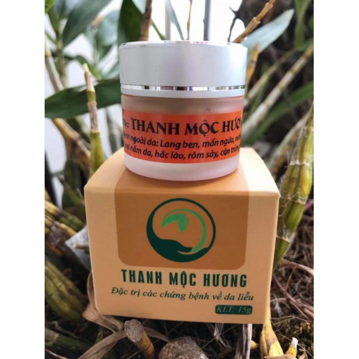 Hình ảnh Thanh Mộc Hương hỗ trợ điều trị bệnh da liễu, hắc lào, lang ben, nấm, nước ăn chân tay, chàm