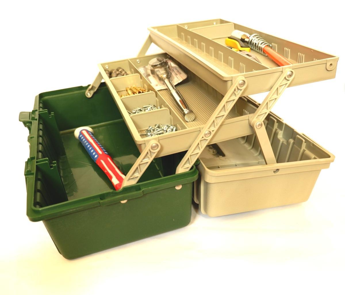 Mua thùng đựng đồ nghề-Thùng đồ nghề cao cấp kích thước 42x20x18cm[HTS][BOX]