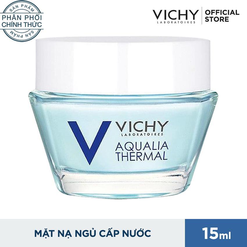 Hình ảnh Mặt nạ ngủ cung cấp nước tức thì Vichy Aqualia 15ml