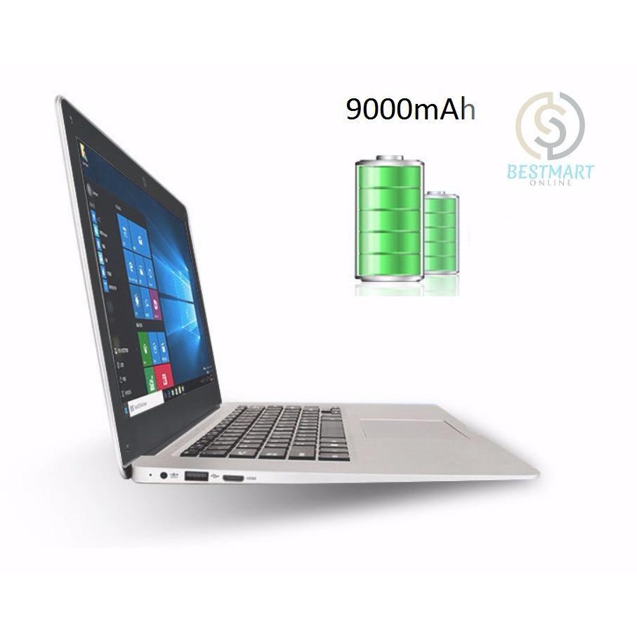 Laptop văn phòng siêu mỏng RAM 6G/ ROM 64G eMMc IPS 14 inch Intel N3450 (White)