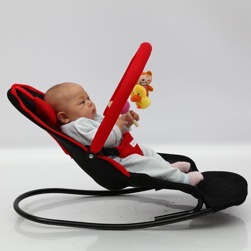Ghế rung có gấu đồ chơi cho bé