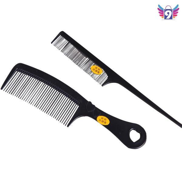 Bộ 2 lược chải tóc kiểu cổ điển dùng hàng ngày 9STORE nhập khẩu