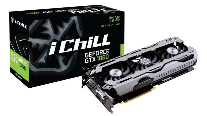 Cạc màn hình INNO 3D IChill GTX1060 X3 OC 6GB