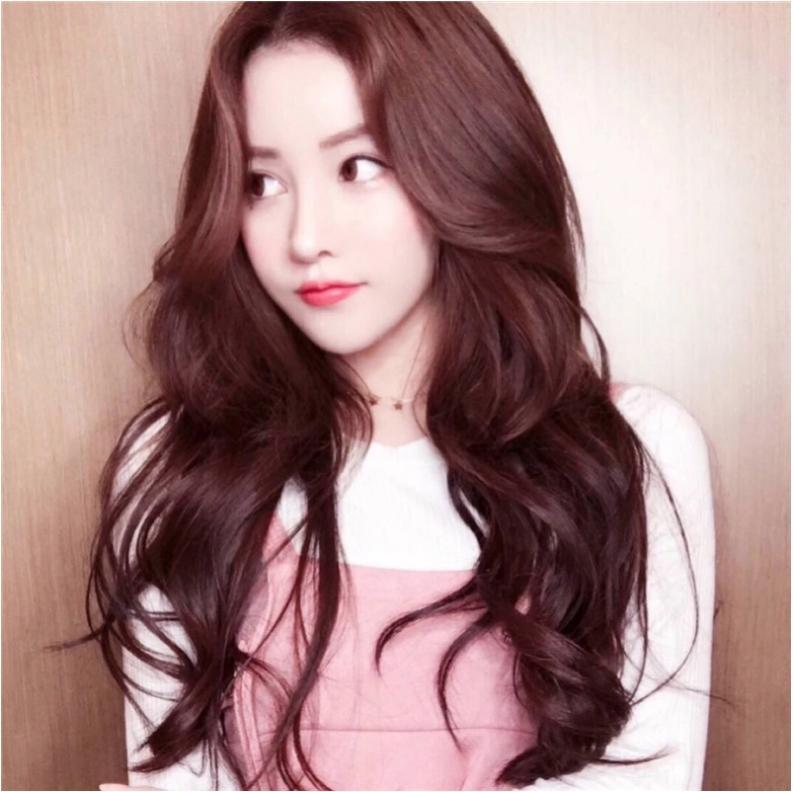 [TẶNG KÈM LƯỚI] Tóc giả nữ Hàn Quốc cao cấp CÓ DA ĐẦU - TG12165 ( MÀU NÂU TỐI )