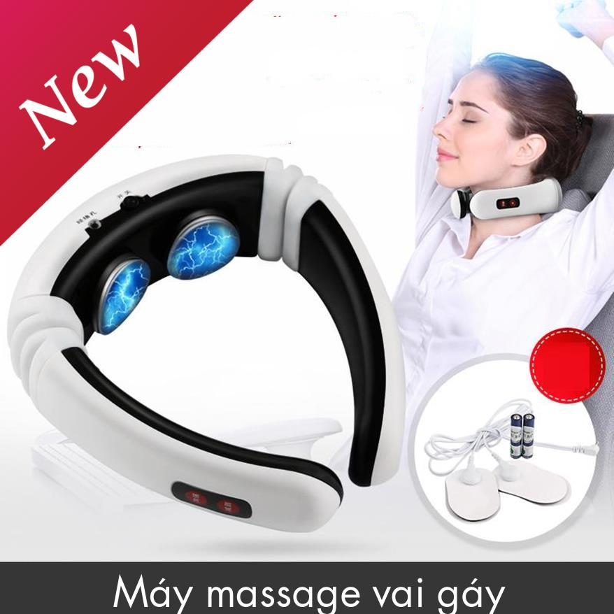 Máy Massage Giảm Đau Vai Gáy, Máy Mát Xa Vai Gáy, Máy Massage Vai Gáy Hình Chữ C Cao Cấp, Thiết Kế Nhỏ Gọn, Thông Minh Với Chức Năng Massage Vai Gáy Giảm Đau Nhanh Chóng, Thúc Đẩy Lưu Thông Máu Xua Tan Mệt Mỏi - Sale Sốc Giảm Giá Nhiều Ưu Đãi L�
