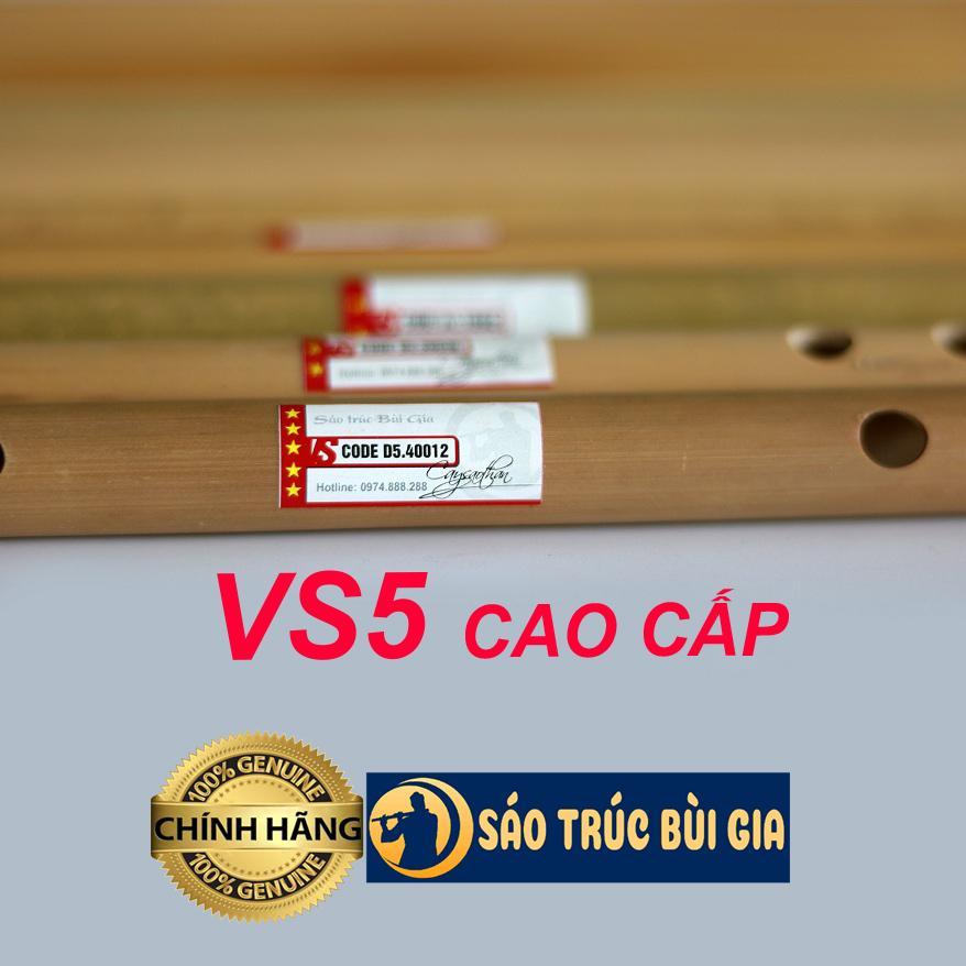 Sáo trúc Đô (C5) – Dòng siêu cao cấp VS5 – Cây sáo Biểu Diễn Chuyên Nghiệp
