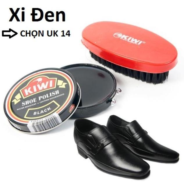 Hộp Xi Đánh Giày Kiwi + Bàn Chải ( Xi Đen ) giá rẻ