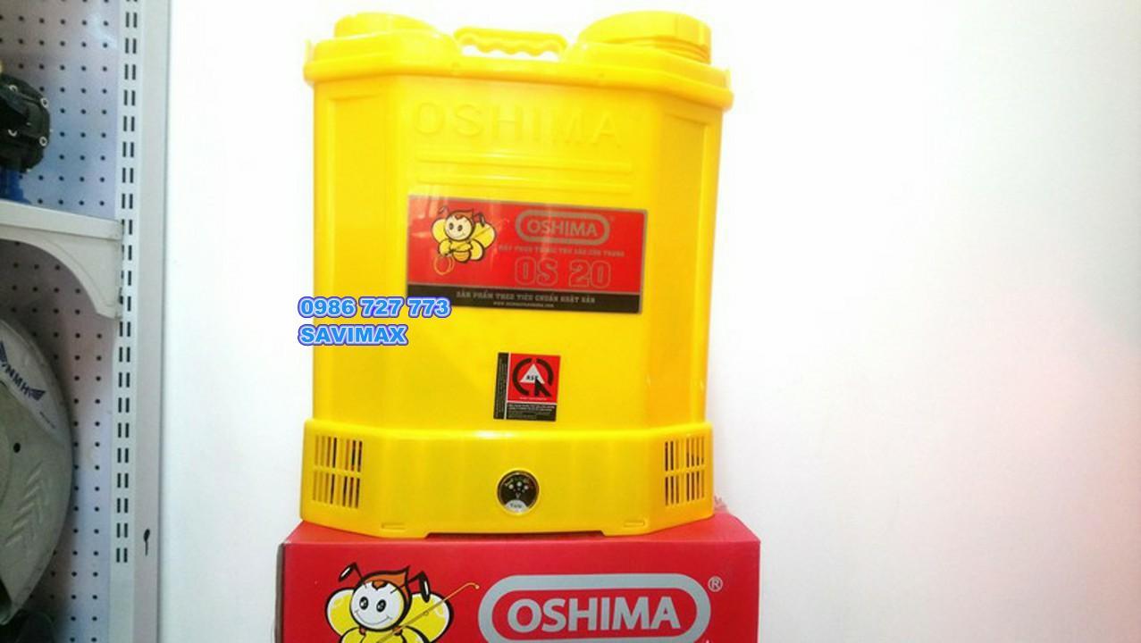 Bình xịt điện oshima OS20- Máy phun thuốc trừ sâu oshima 20L