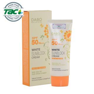 Kem chống nắng cao câ p tră ng da DaBo White SunBlock Cream SPF 50 PA+++ 70ml - Hàn Quốc (Hàng chính hãng) thumbnail