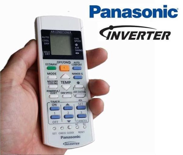 Điều khiển điều hòa panasonic inverter 2 chiều (trắng)