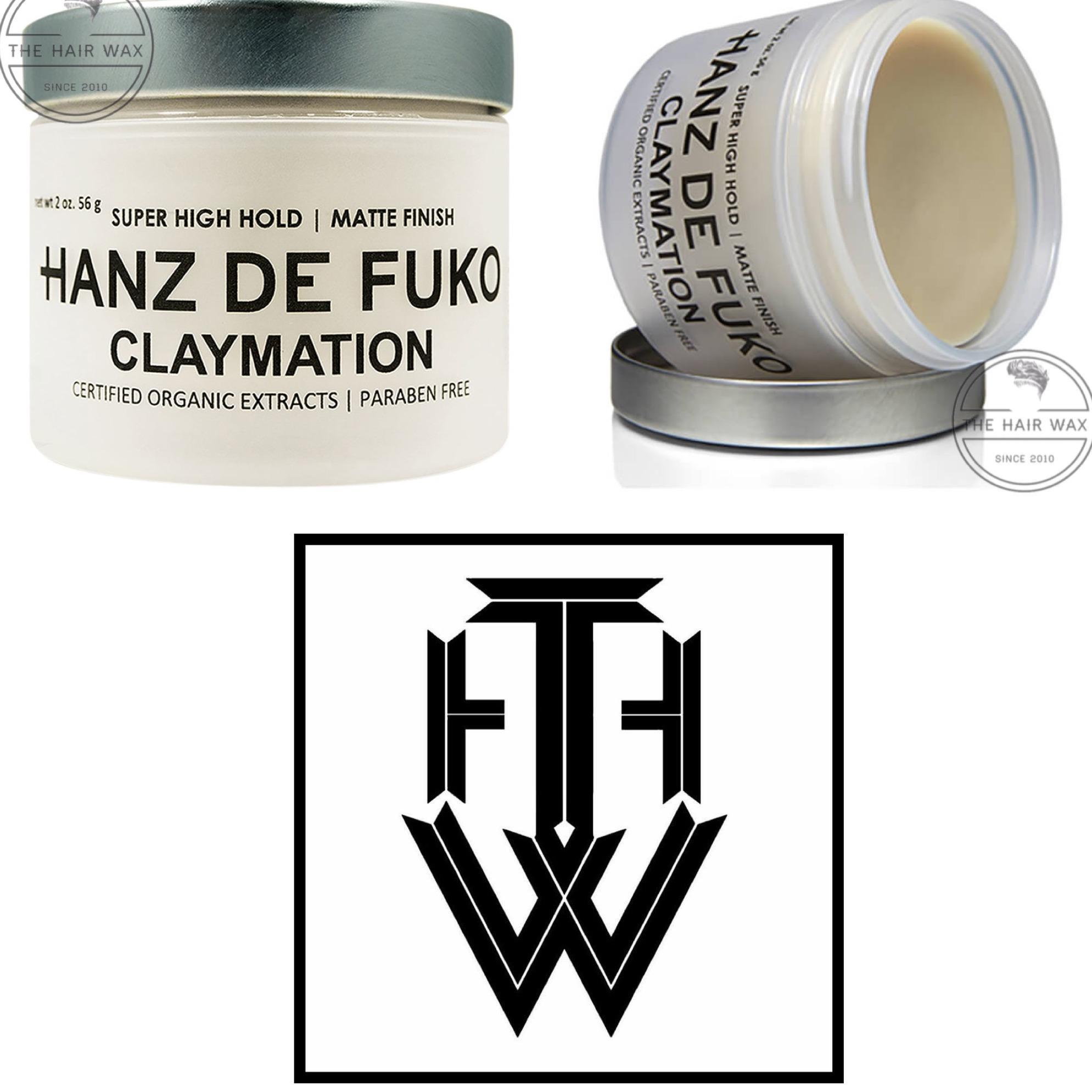 Sáp vuốt tóc Hanz De Fuko Claymation 56g