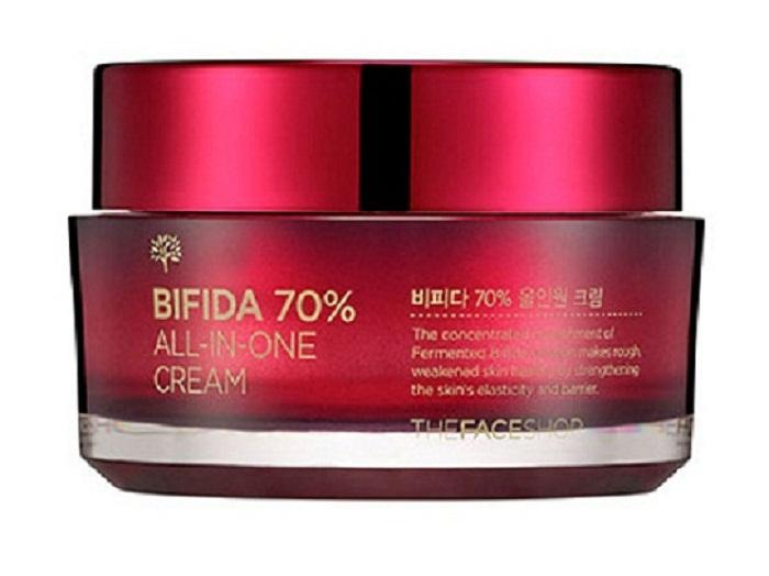 Kem dưỡng - Bifida 70% All in one Cream - KDBITFS01M