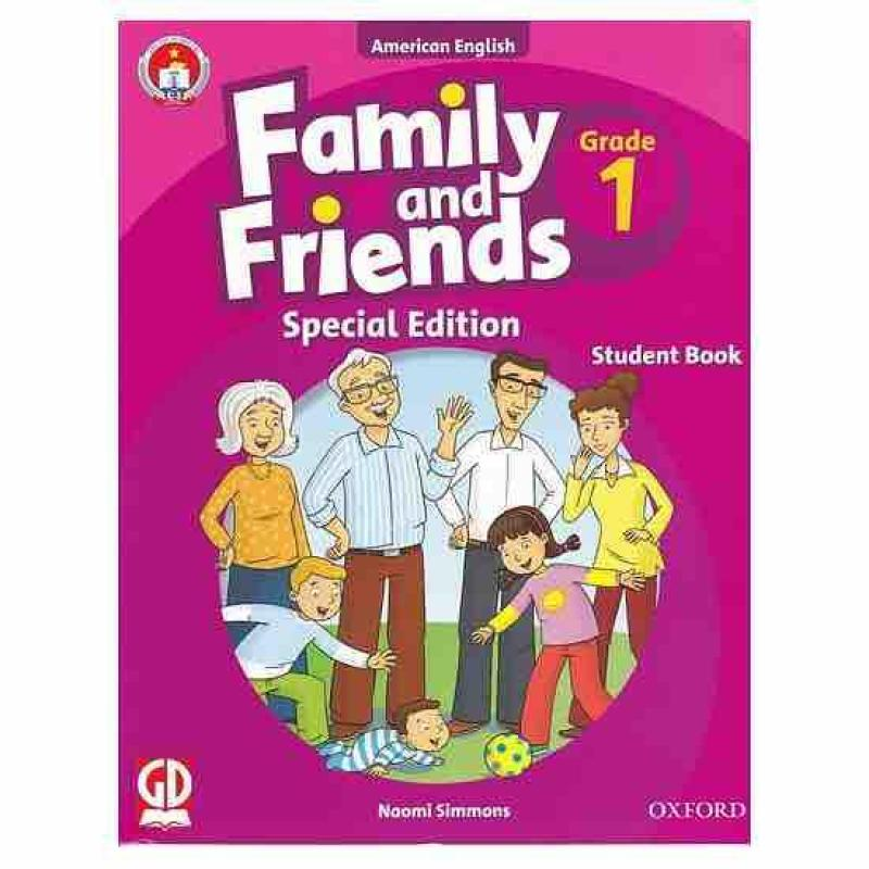 Mua Sách anh văn Family and Friends 1 2 3 4 5