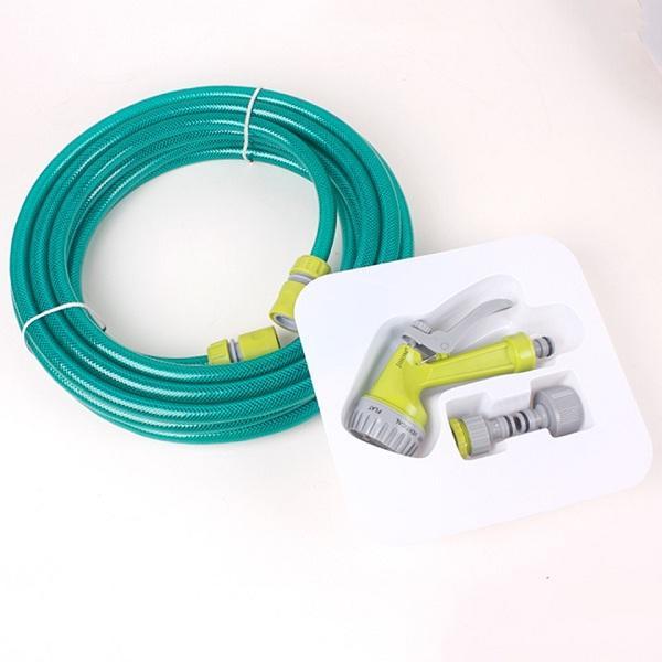 Bộ vòi kèm dây dài 10m đa năng rửa xe tưới cây siêu bền Jihom HLS113