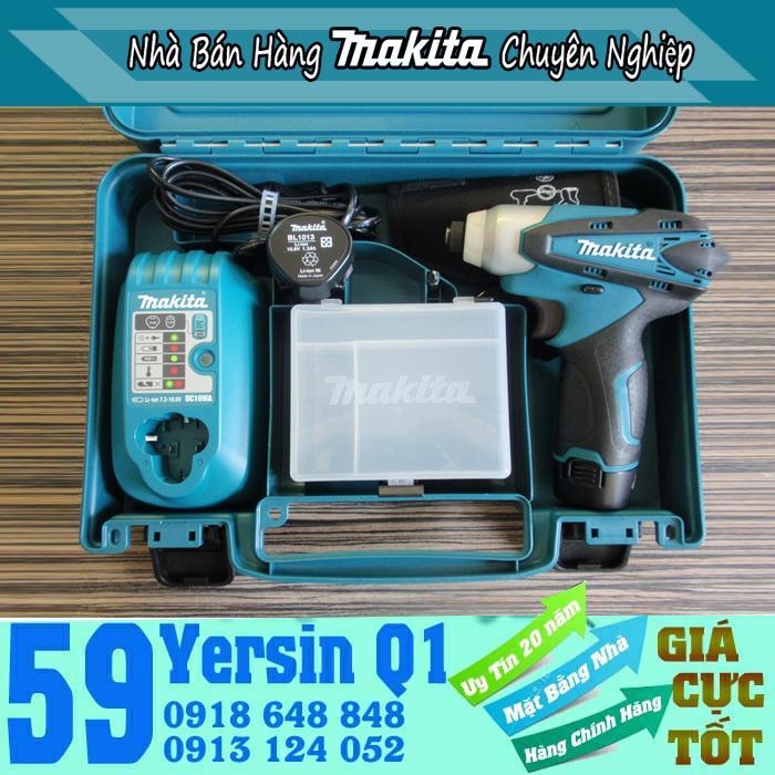 Máy bắt vít pin Makita TD090DWE 10.8V