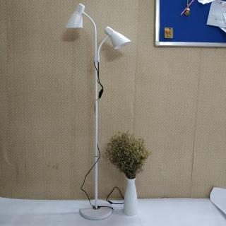 Đèn đứng để sàn trang trí phòng khách cao cấp 2 nhánh độc đáo DC9011 - Kèm 2 bóng LED chuyên dụng thumbnail