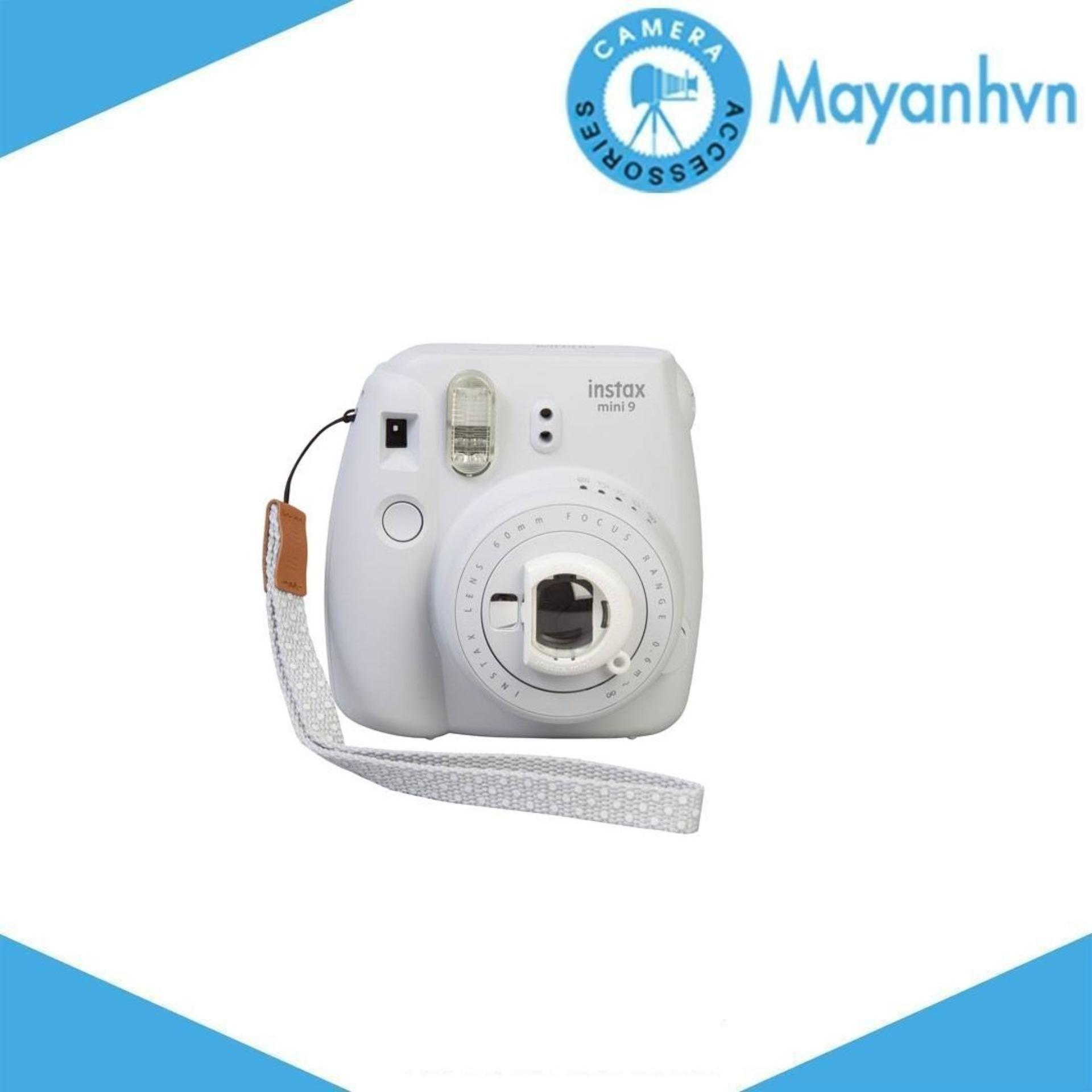 Fujifilm Instax Mini 9 Smoky White - Hãng Phân Phối Chính Thức Đang Ưu Đãi
