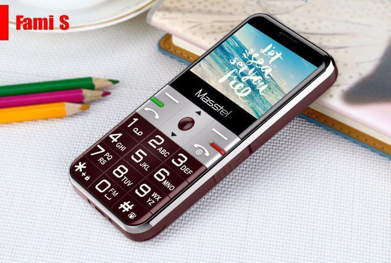 Điện thoại Masstel Fami S pin khủng chữ to loa lớn cho người già 2 sim giá rẻ