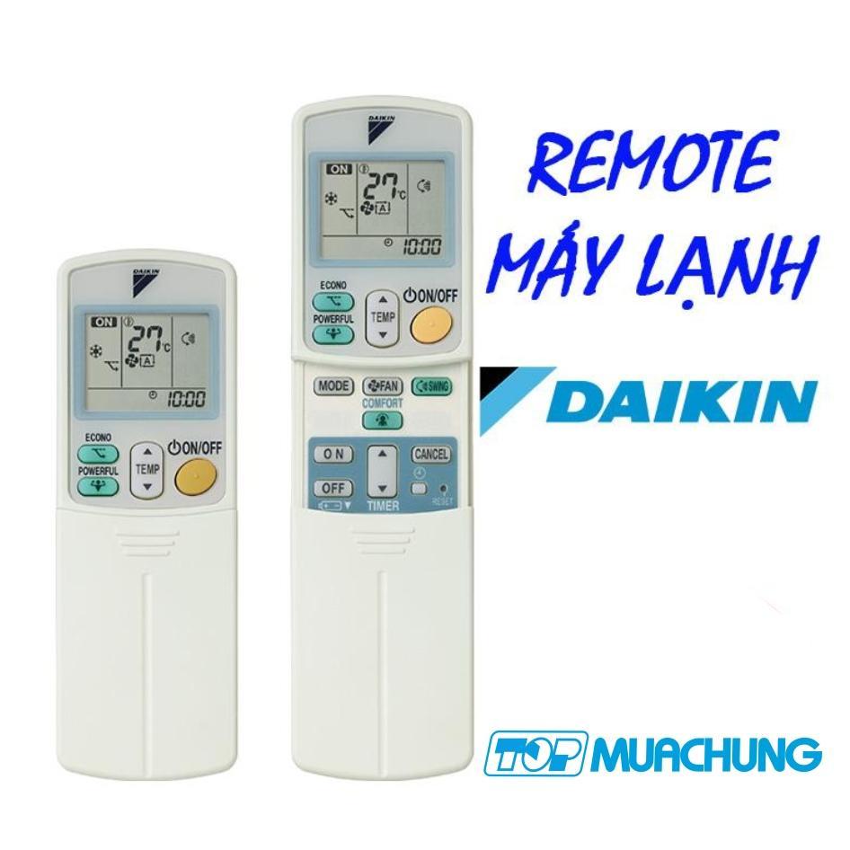 Điều khiển từ xa máy lạnh Daikin Inverter