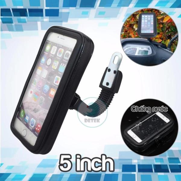 Giá đỡ chống nước cho điện thoại từ 5.0 đến 5.5 inch trên xe máy K66