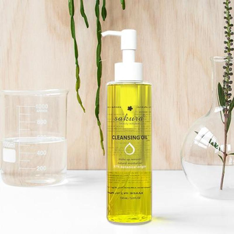 Dầu Tẩy Trang Sakura Cleansing Oil Sạch Đẹp Da 150 ml
