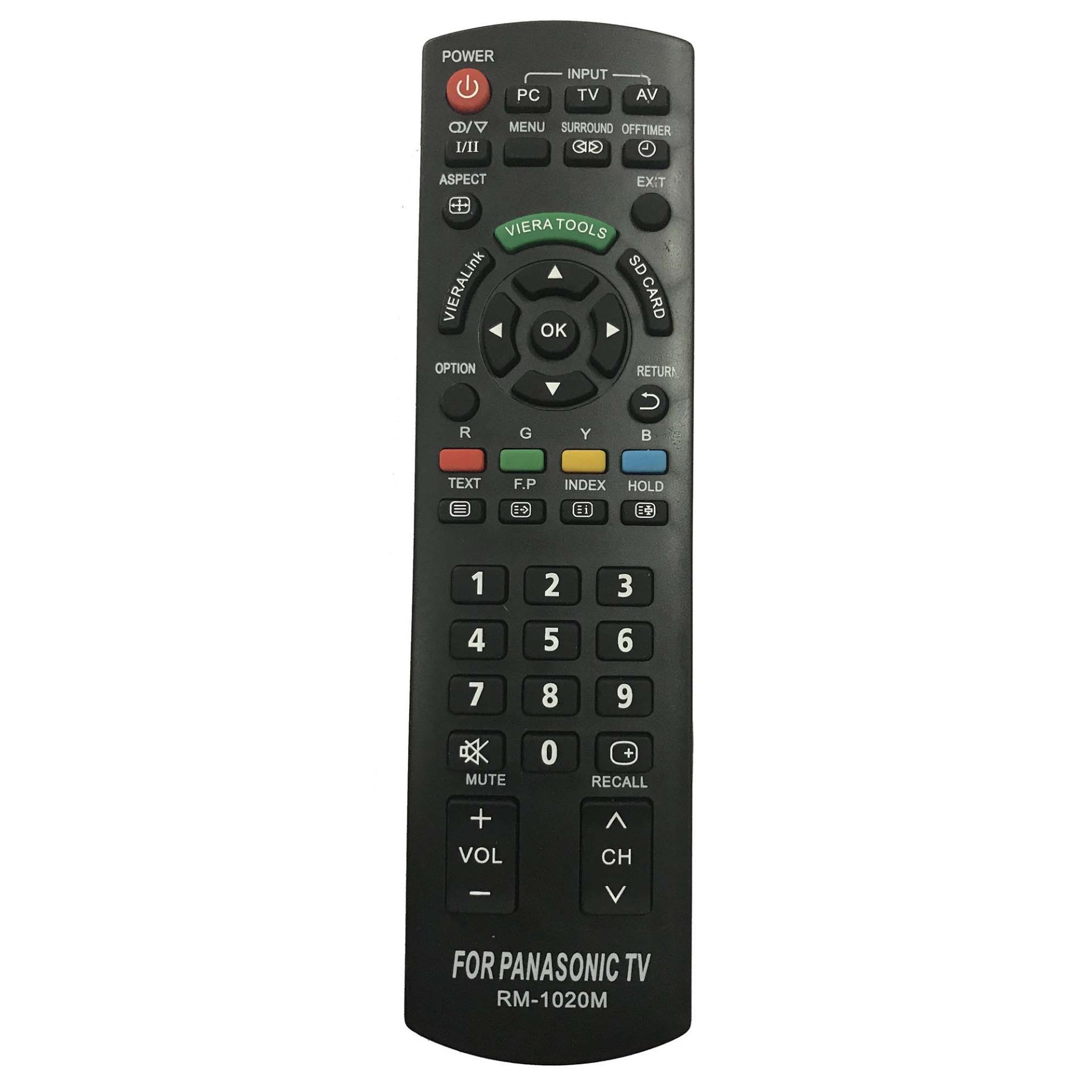 Bảng giá Điều Khiển TV PANASONIC Đa Năng RM-D1020 (Đen)
