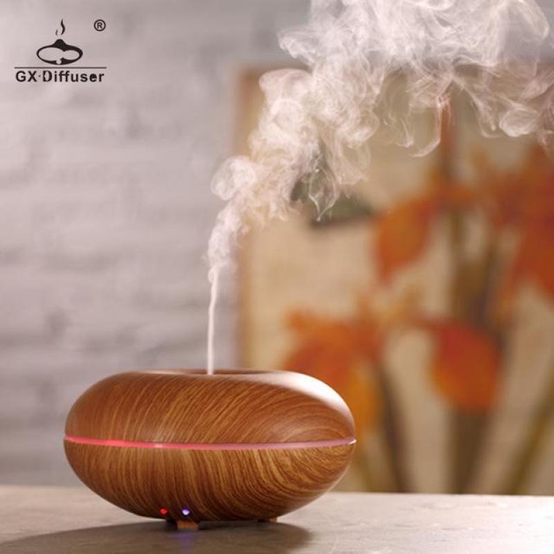 Bảng giá Máy phun sương khuếch tán tinh dầu cao cấp GX Diffuser GX-03  + tặng chai tinh dầu sả chanh 10ml