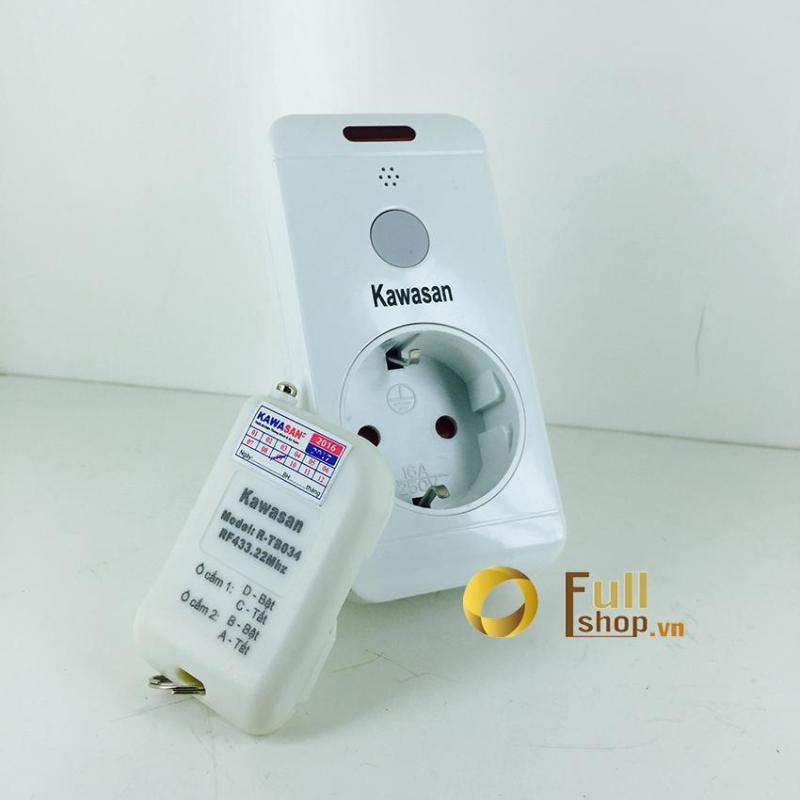 Ổ cắm điều khiển từ xa điều khiển tắt mở thiết bị điện Kawasan Kw - TB03
