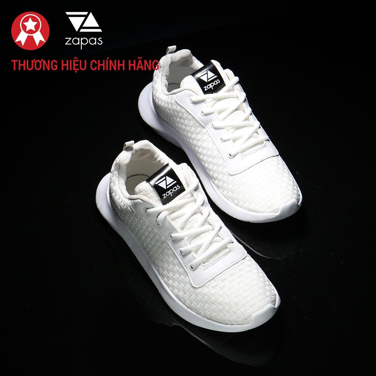 Giày Unisex Thể Thao Zapas Runner Đẹp ZR005 (Màu Trắng) Phong Cách Thời Trang Cá Tính