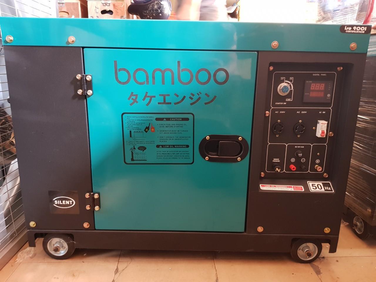 Máy phát điện bamboo BMB 7800ET new 5.5Kw, chống ồn