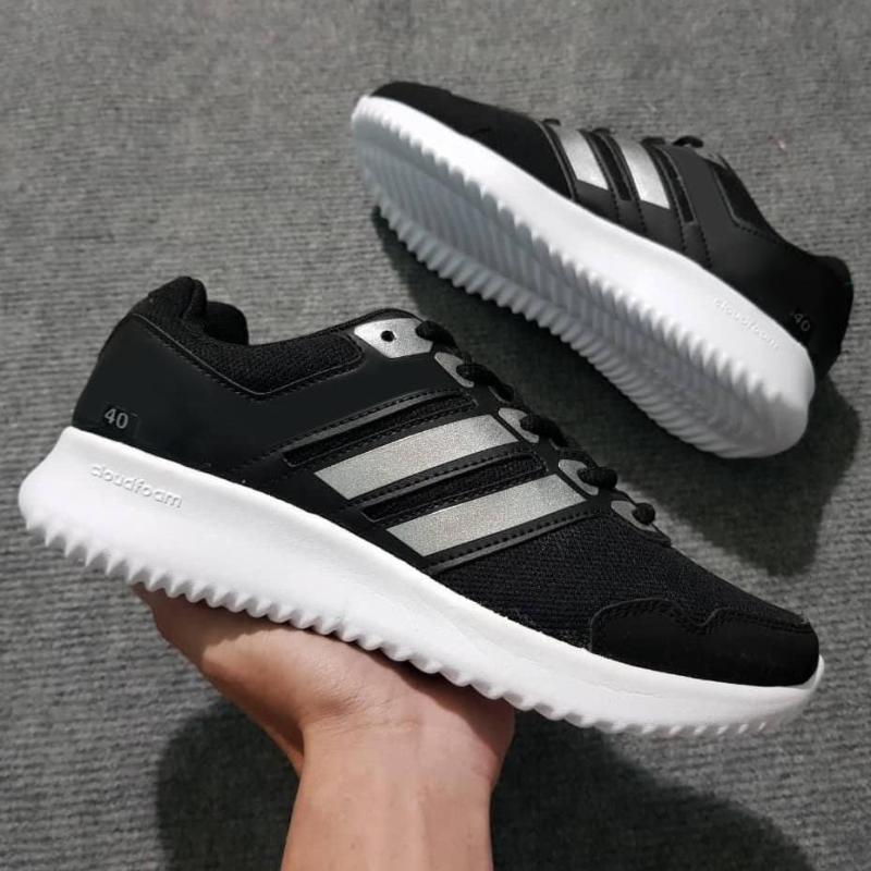 Giày Thể Thao Sneaker Nam ( Đen Phối Bạc )