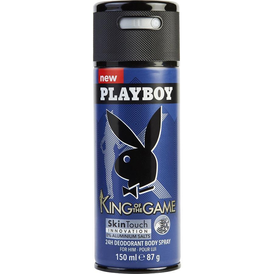 Xịt khử mùi toàn thân Playboy King Of The Game 150ml