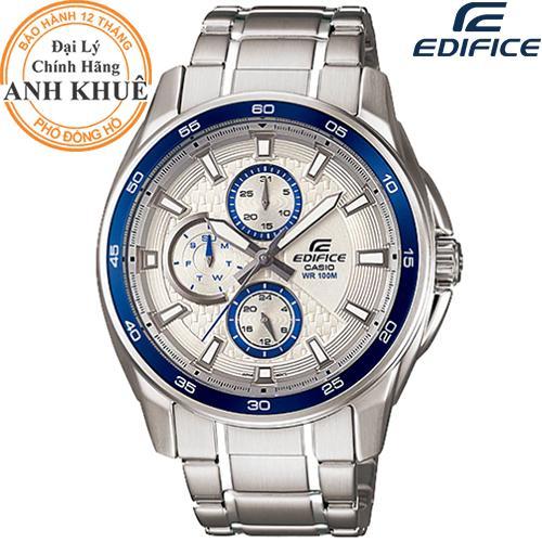 Nơi bán Đồng hồ nam dây kim loại EDIFICE chính hãng Casio Anh Khuê EF-334D-7AVUDF