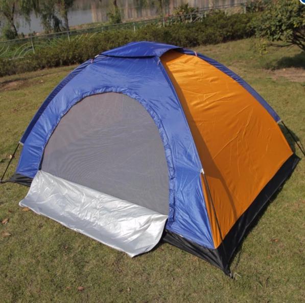 Lều phượt du lịch dã ngoại cắm trại cửa 2 lớp cao cấp