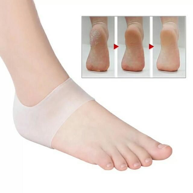 Tất silicon bảo vệ gót chân