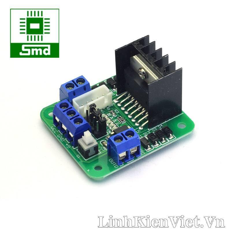 Hình ảnh Module điều khiển động cơ L298 (Loại tốt)