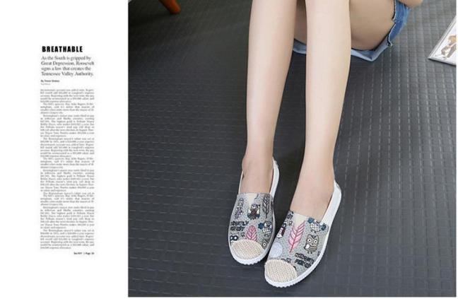 Giày lười slip on vintage thời trang giá rẻ
